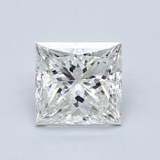 1,01 Carat Princesse Diamond Très bonne H VVS1
