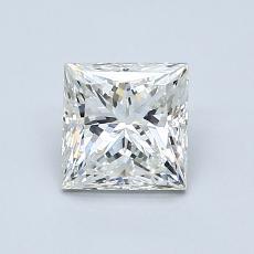 1.00 Carat 公主方形 Diamond 非常好 J VS2