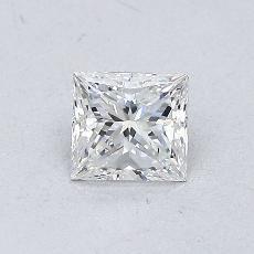 0,50 Carat Princesse Diamond Très bonne F VVS1