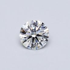 推荐宝石 1:0.34 克拉圆形切割