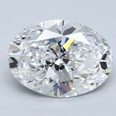 推薦鑽石 #4: 2.02  克拉橢圓形 Cut