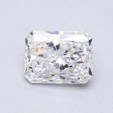 0.70-Carat Radiant Diamond Very Good E VVS1