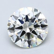 2,00 Carat Redondo Diamond Ideal H VS1