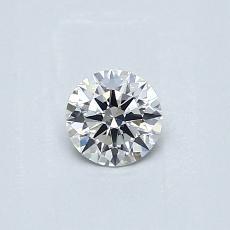 推荐宝石 2:0.30 克拉圆形切割