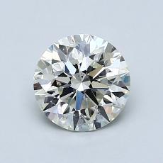 1.00 Carat 圆形 Diamond 理想 K SI1