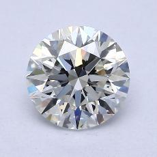 2.00 Carat 圆形 Diamond 理想 G VVS1