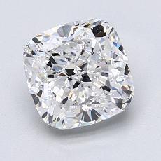 2,00 Carat Coussin Diamond Très bonne D VS1