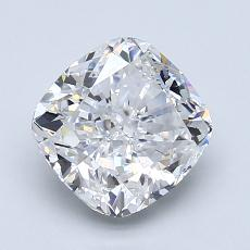 推薦鑽石 #3: 1.90 克拉墊形切割