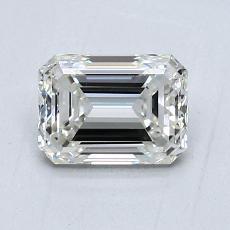 1.04 Carat Esmeralda Diamond Muy buena H VVS1