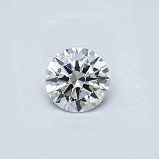 0.27-Carat Round Diamond Very Good F SI2