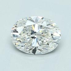 1.01-Carat Oval Diamond Very Good G VS2