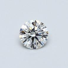 推荐宝石 1:0.38 克拉圆形切割