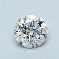1.02 Carat 圓形 Diamond 良好 F SI2