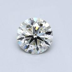 Recommended Stone #3: 0.65-Carat Round Cut