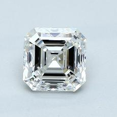 1.01 Carat 上丁方形 Diamond 非常好 F VVS2