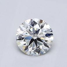 0.82-Carat Round Diamond Ideal G VVS2