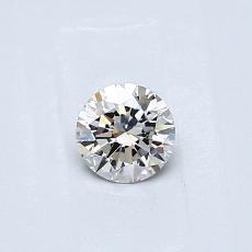 目前的寶石: 0.30  克拉圓形切割
