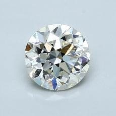 推荐宝石 4:1.00 克拉圆形切割