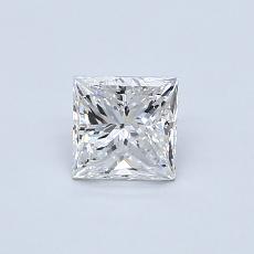 推荐宝石 2:0.59 克拉公主方型切割
