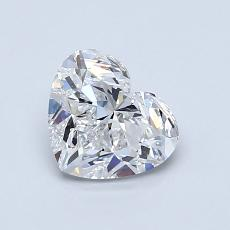 Current Stone: 1.00-Carat Heart Shaped