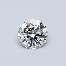 Recommended Stone #2: 0,42-Carat Round Cut