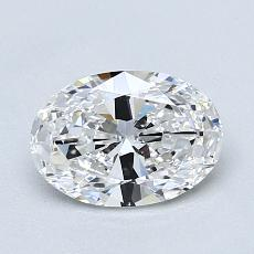 Recommended Stone #1: 1.02-Carat Oval Cut