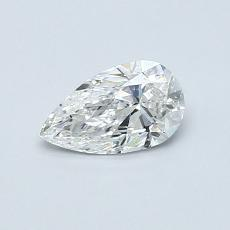 Recommended Stone #4: 0.46-Carat Pear Shaped