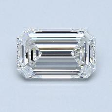 Recommended Stone #4: 0.93-Carat Emerald Cut