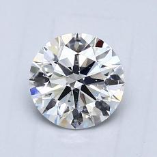 推荐宝石 1:0.74 克拉圆形切割