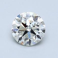 推荐宝石 1:1.00 克拉圆形切割