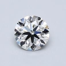 推荐宝石 4:0.81 克拉圆形切割
