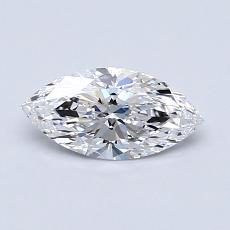 Recommended Stone #4: 0.59-Carat Marquise Cut