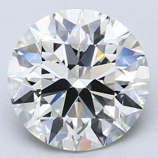 Recommended Stone #2: 3,50-Carat Round Cut