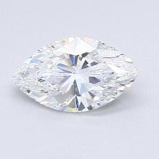 Recommended Stone #2: 0.91-Carat Marquise Cut Diamond
