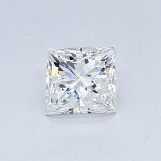 推荐宝石 3:0.54 克拉公主方形钻石