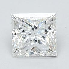 推荐宝石 2:1.21 克拉公主方型切割