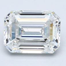 Recommended Stone #2: 1,73-Carat Emerald Cut Diamond