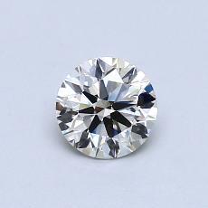 推荐宝石 1:0.56 克拉圆形切割