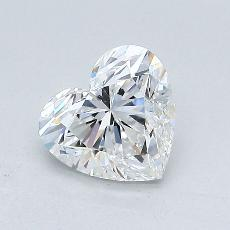 Recommended Stone #3: 1.07-Carat Heart Cut Diamond