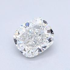 1.02-Carat Cushion Diamond Very Good G VVS1