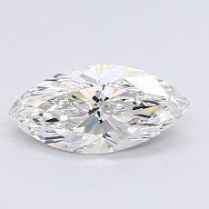 0.79-Carat Marquise Diamond Very Good H IF