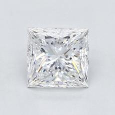 1.21-Carat Princess Diamond Very Good D VVS1