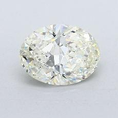 1.05-Carat Oval Diamond Very Good K VVS1