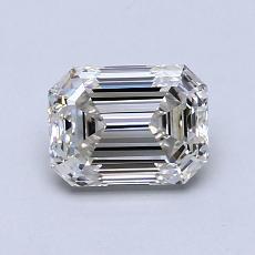 推荐宝石 3:0.95 克拉祖母绿切割钻石