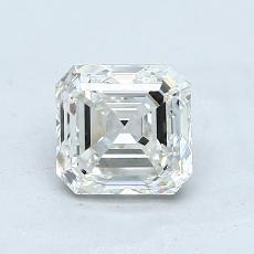 Recommended Stone #4: 1.02-Carat Asscher Cut Diamond