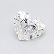 オススメの石No.4:0.91カラットのハートカットダイヤモンド
