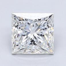 2.05 Carat 公主方形 Diamond 非常好 F VS2