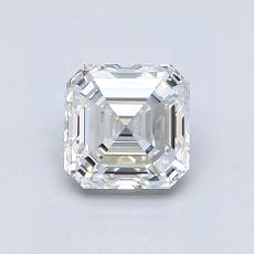 Recommended Stone #4: 1,00-Carat Asscher Cut Diamond