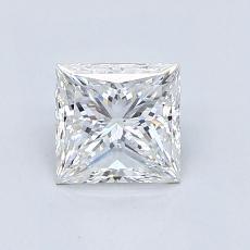 推薦鑽石 #4: 0.95  克拉公主方形鑽石