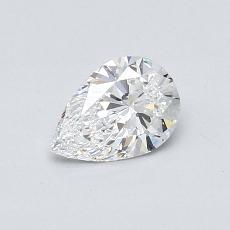 Recommended Stone #1: 0.52-Carat Pear Cut Diamond